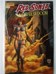 Red Sonja vs. Thulsa Doom #1 Will Conrad Cover